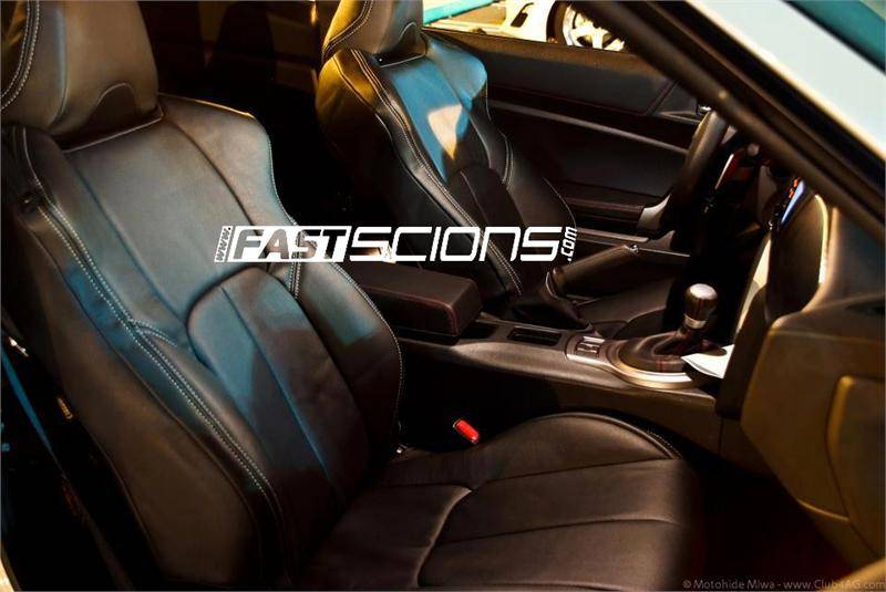 Clazzio Leather Seat Covers Scion Frs 2013 2016