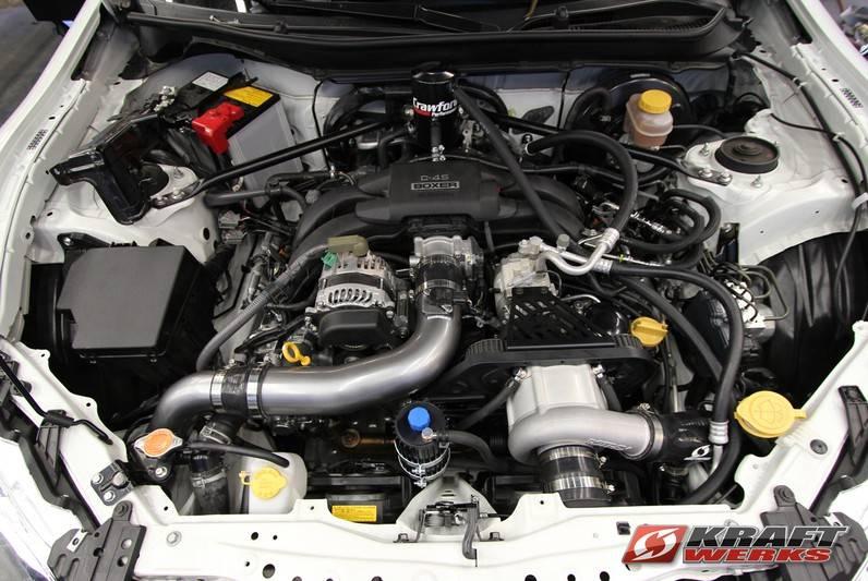 Kraftwerks Supercharger Kit: Scion FR-S 2013-2016