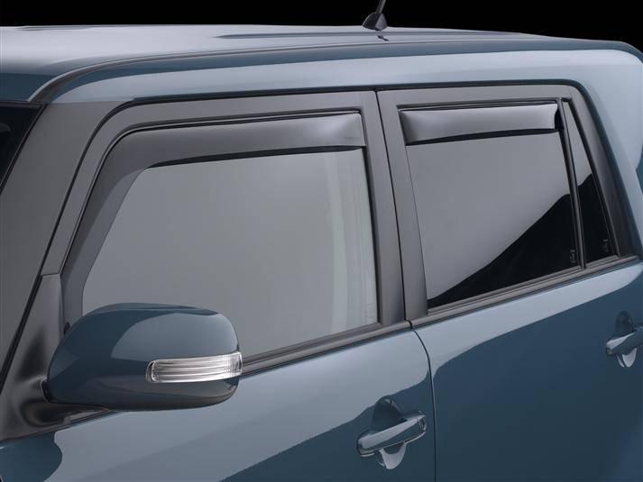 Weathertech Side Window Deflectors >> Weathertech Side Window Deflectors Scion Xb 2008 2015 Xb2