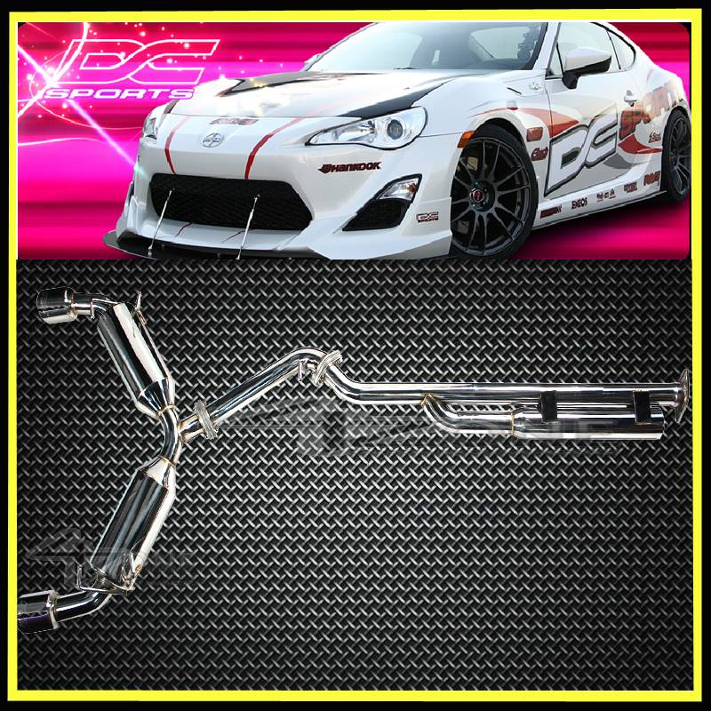 DC Sports Exhaust System: Scion FR-S 2013-2016; Toyota 86
