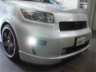SCION CARBON FIBER PARTS - Scion Carbon Fiber Fog Lights