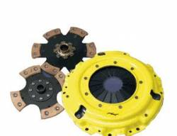 ACT - ACT 6-Puck Clutch Kit (Heavy Duty Pressure Plate / Solid Hub Disc): Scion xA / xB 2004 - 2006
