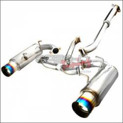 Spec D - Spec D Cat-Back Exhaust (Titanium Tips): Scion FR-S 2013-2016; Toyota 86 2017-2018; Subaru BRZ 2013-2018