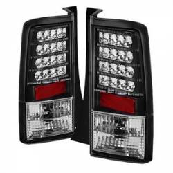 Spyder - Spyder Black LED Tail Lights (Version 2): Scion xB 2004 - 2006