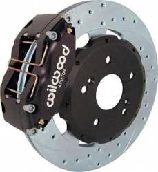 FastBrakes - Wilwood 4-Piston Caliper Rear Big Brake Kit: Scion tC 2005 - 2010