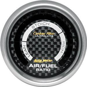 Autometer - Autometer Carbon Fiber Series Air / Fuel Gauge
