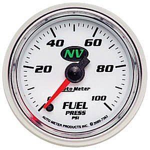 Autometer - Autometer NV Series Fuel Pressure Gauge