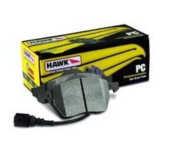 Hawk - Hawk Ceramic Front Brake Pads: Scion iQ 2012 - 2016