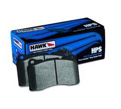 Hawk - Hawk HPS Rear Brake Pads: Scion FR-S 2013-2016; Toyota 86 2017-2018; Subaru BRZ 2013-2018