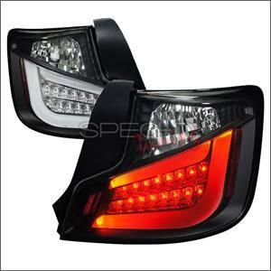 Spec D - Spec D Black LED Tail Lights: Scion tC 2011 - 2013 (tC2)