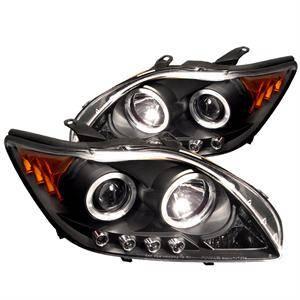 Spyder - Spyder Dual Halo Projector Headlights (Black): Scion tC 2005 - 2010