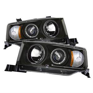 Spyder - Spyder Dual Halo Projector Headlights (Black): Scion xB 2004 - 2006