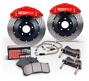 Stoptech - Stoptech 4-Piston Front Big Brake Kit (328 X 28mm): Scion FR-S 2013 - 2016; Subaru BRZ 2013-2015