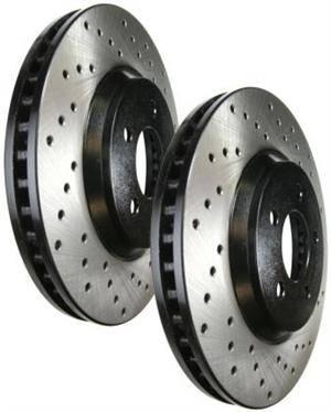 Stoptech - Stoptech Drilled Rear Brake Rotors: Scion xB 2008 - 2015 (xB2)