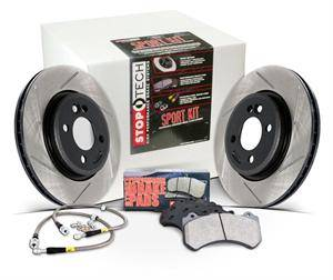 Stoptech - Stoptech Slotted Sport Brake Kit (Front & Rear): Scion tC 2005 - 2010