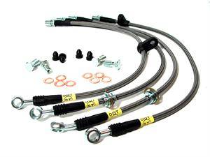 Stoptech - Stoptech Stainless Steel Front Brake Lines: Scion xA/ xB 2004 - 2006
