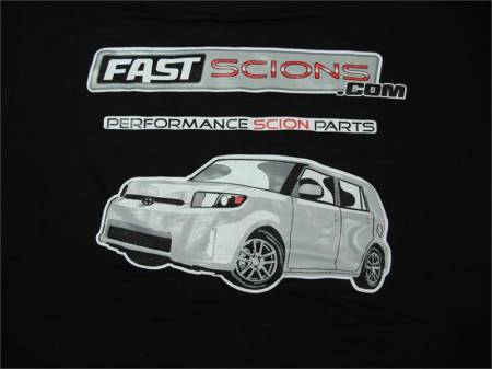 FastScions - FastScions Scion xB2 T-Shirt (Black - Short Sleeve)