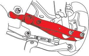 SPC - SPC Performance Rear Camber Kit: Scion FR-S 2013-2016; Toyota 86 2017-2018; Subaru BRZ 2013-2018