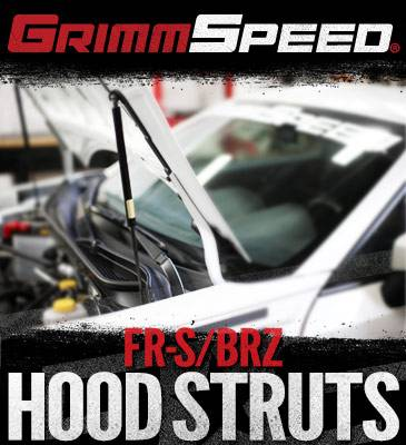 GrimmSpeed - Grimmspeed Hood Supports: Scion FR-S 2013 - 2016