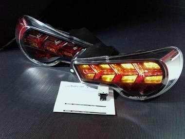 Buddy Club - Buddy Club LED Tail Lights w/ Amber Turn Signal: Scion FR-S 2013 - 2016; Toyota 86 2017-2018; Subaru BRZ 2013-2018