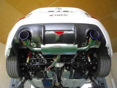 APEXi - APEXi RS Evo Extreme Exhaust System: Scion FR-S 2013 - 2016; Toyota 86 2017-2020; Subaru BRZ 2013-2020
