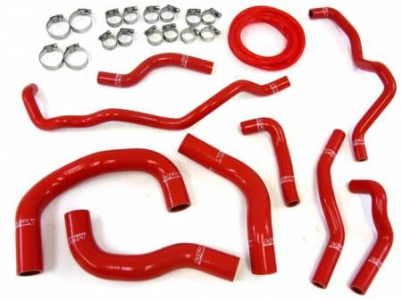HPS - HPS Silicone Radiator + Heater Hose Kit: Scion iQ 2012 - 2016