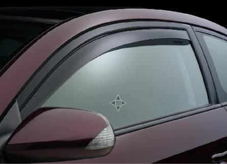 Weathertech - Weathertech Side Window Deflectors: Scion tC 2005 - 2010