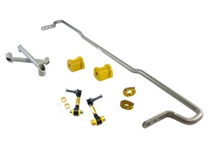 Whiteline - Whiteline 16mm Rear Sway Bar + Brace (Adjustable): Scion FR-S 2013-2016; Toyota 86 2017-2018; Subaru BRZ 2013-2018