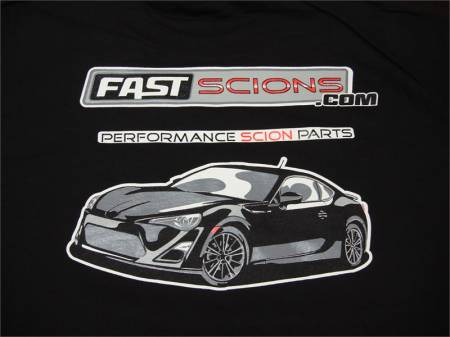 FastScions - FastScions Scion FR-S Hoodie Sweatshirt (Black)