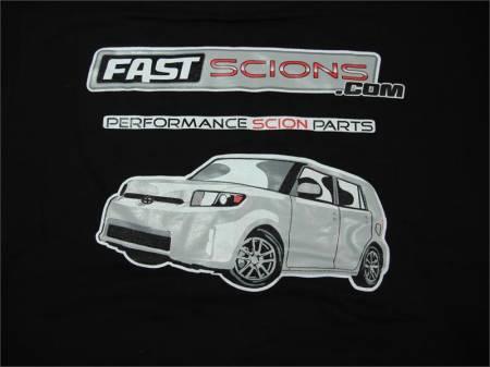 FastScions - FastScions Scion xB Hoodie Sweatshirt (Black)
