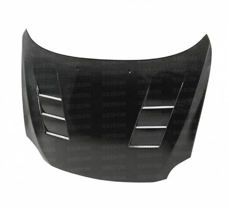 Seibon - Seibon TS Carbon Fiber Hood: Scion tC 2005 - 2010