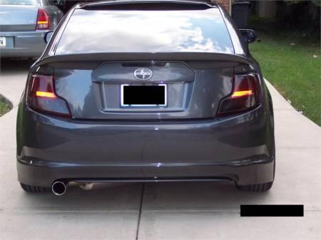 Seibon - Seibon TR Carbon Fiber Rear Lip: Scion tC 2011 - 2013 (tC2)