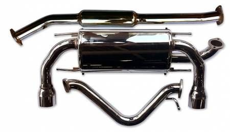 AVO Turboworld - AVO Turboworld Exhaust System:  Scion FR-S 2013-2016; Toyota 86 2017-2018; Subaru BRZ 2013-2018