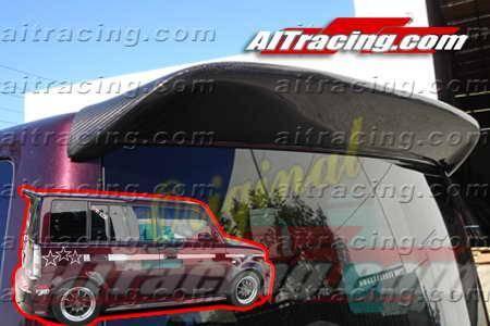 AIT Racing - AIT Racing K1 Carbon Fiber Rear Spoiler: Scion xB 2004 - 2006
