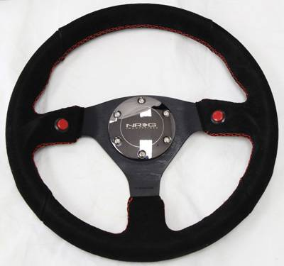 NRG Innovations - NRG Innovations 2-Button Steering Wheel (320mm)
