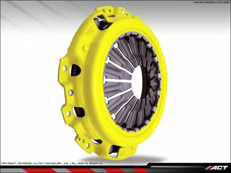 ACT - ACT 6-Puck Clutch Kit (Heavy Duty Pressure Plate / Solid Hub Disc): Scion tC 2005 - 8/2006