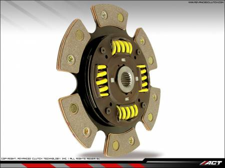 ACT - ACT 6-Puck Clutch Kit (Heavy Duty Pressure Plate / Sprung Hub Disc): Scion xA / xB 2004 - 2006