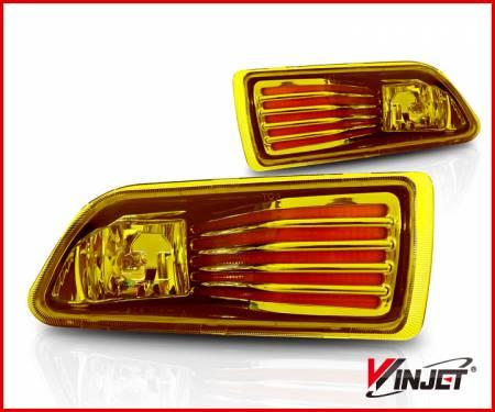 Winjet - Winjet Amber Fog Lights: Scion tC 2005 - 2010