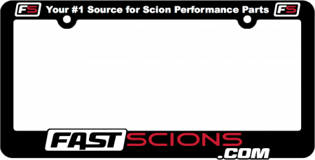 FastScions - FastScions License Plate Frame