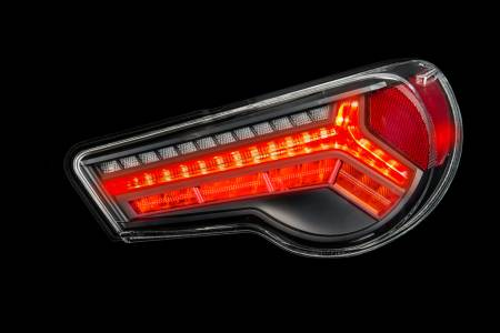 Buddy Club - Buddy Club LED Tail Lights w/ Amber Turn Signal: Scion FR-S 2013 - 2016; Toyota 86 2017-2018; Subaru BRZ 2013-2018