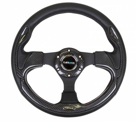 NRG Innovations - NRG Innovations RST-001 Pilota Leather Steering Wheel (320mm)