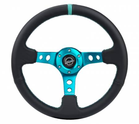 NRG Innovations - NRG Innovations RST-006 Deep Dish Steering Wheel (350mm)