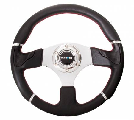 NRG Innovations - NRG Innovations RST-008 Evo Leather Steering Wheel (320mm)