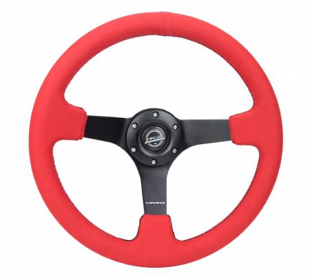 NRG Innovations - NRG Innovations RST-036 5mm Spoke Steering Wheel (350mm)