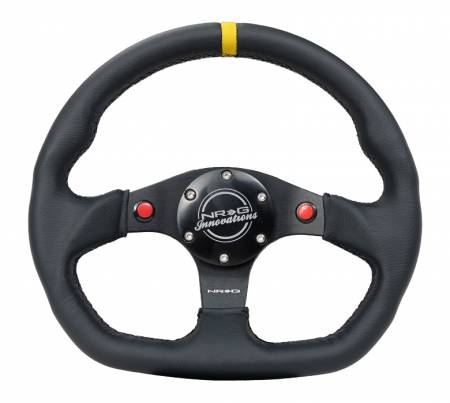 NRG Innovations - NRG Innovations RST-024 Flat Bottom Steering Wheel (320mm)
