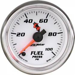 Scion xA Interior Parts - Scion xA Gauge - Autometer - Autometer C2 (Cobalt II) Series Fuel Pressure Gauge