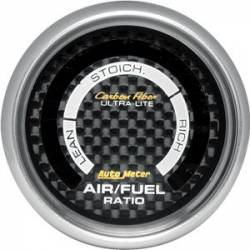Scion xA Interior Parts - Scion xA Gauge - Autometer - Autometer Carbon Fiber Series Air / Fuel Gauge