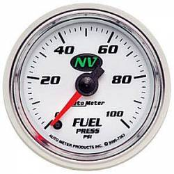 Scion Gauge - Fuel Pressure - Autometer - Autometer NV Series Fuel Pressure Gauge