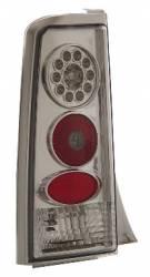 SCION LIGHTING PARTS - Scion Tail Lights - Eagle Eyes - Eagle Eyes Chrome LED Tail Lights: Scion xB 2004 - 2006