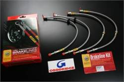 SCION BRAKE PARTS - Scion Stainless Brake Lines - Goodridge - Goodridge G-Stop Stainless Brake Lines (Front & Rear): Scion FR-S 2013-2016; Toyota 86 2017-2018; Subaru BRZ 2013-2018